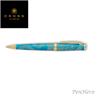 Cross Year of the Monkey Tibetan Teal Ballpoint Pen