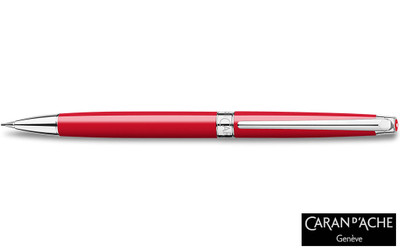 Caran d'Ache Leman Slim Scarlet Red Mechanical Pencil
