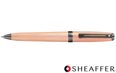 Sheaffer Prelude Brushed Copper Tone PVD Gunmetal Trim Ballpoint Pen