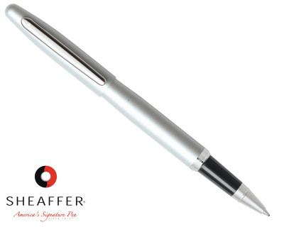 Sheaffer VFM Strobe Silver Rollerball Pen