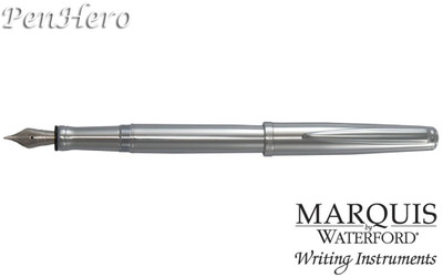 Waterford Marquis Claria Chrome Fountain Pen