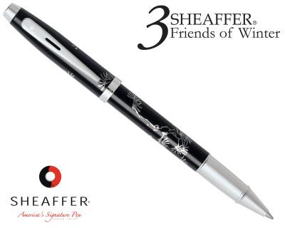 Sheaffer 100 3 Friends of Winter, Pine Design Rollerball Pen