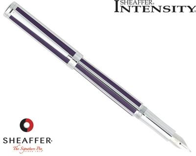 Sheaffer Intensity Deep Violet Striped Fountain Pen