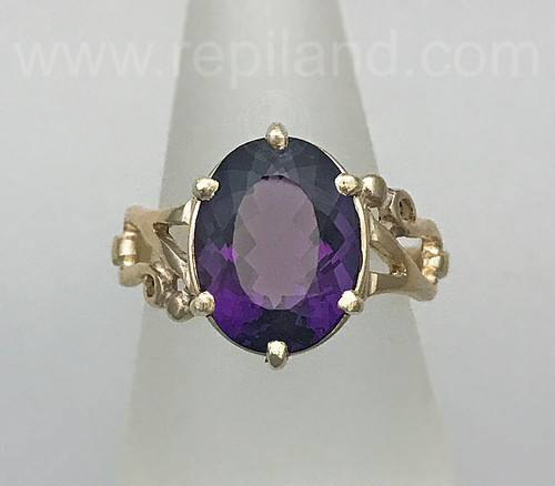 Lùbach Ring with 6.14ct Amethyst.