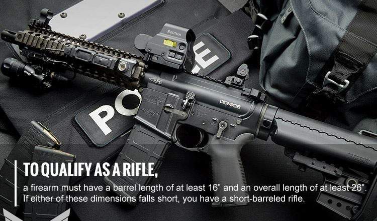 Short Barreled Rifle