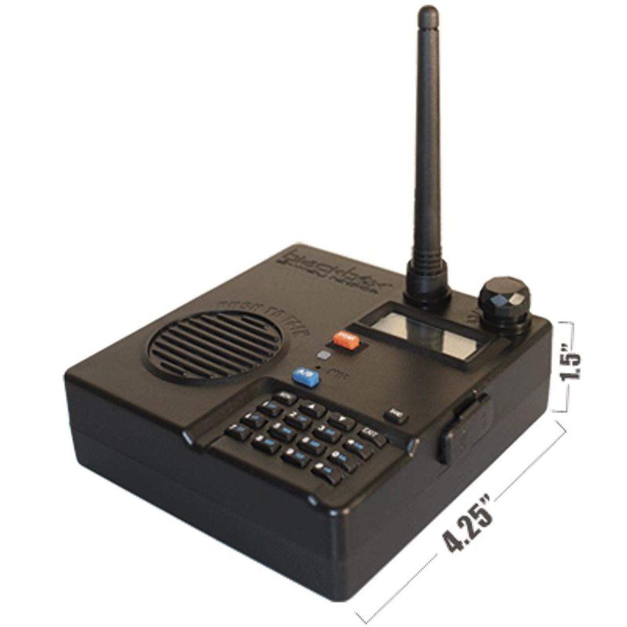 blackbox desktop base station is 4 watt has 128 channel and is rh nuradios com Motorola Base Station Repeater Marine Radio Base Station