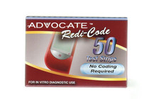 RediCode Strips for Advocate RediCode Meter - Box of 50