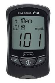 Gluccocard Vital Meter
