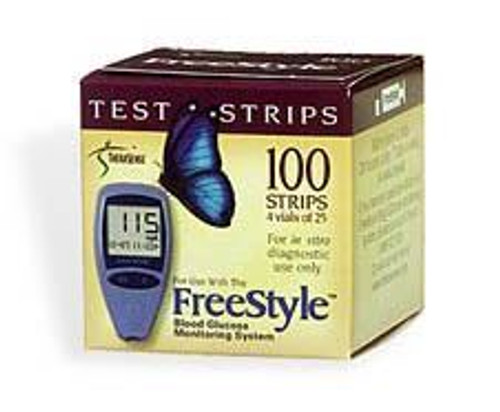 Free Style test strips - Box of 100