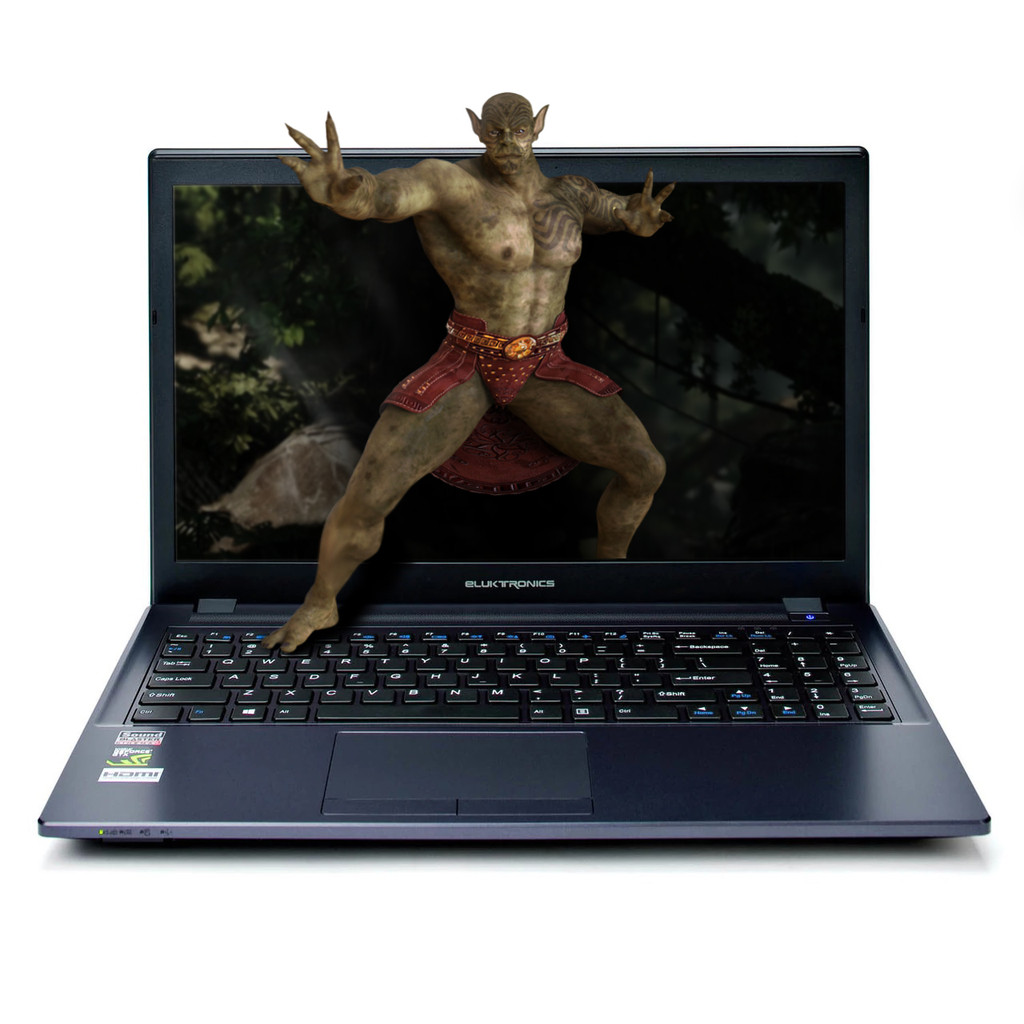 Eluktronics W650KK1 Series 15.6-Inch NVIDIA® GeForce® GTX Entertainment Laptop