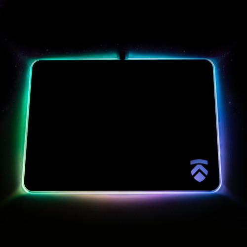 Eluktronics RGB Hard Gaming Mousepad - Large
