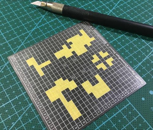 digital camouflage stencil 2 sided modeller s workshop