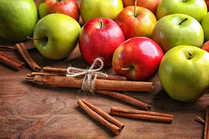 Apples Cinnamon Stick