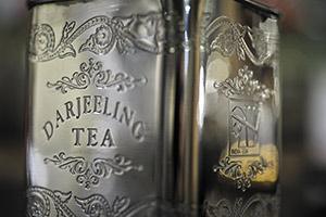 Silver Darjeeling Tin