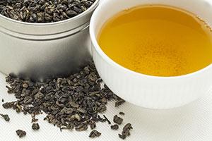 Cup Gunpowder tea