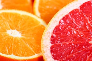 Orange, Grapefruit