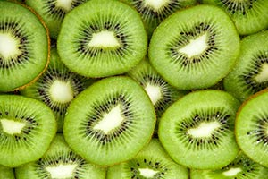 Sliced Kiwis