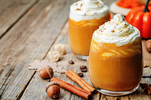 Pumpkin Tea Latte