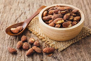 Bowl Roasted Almonds