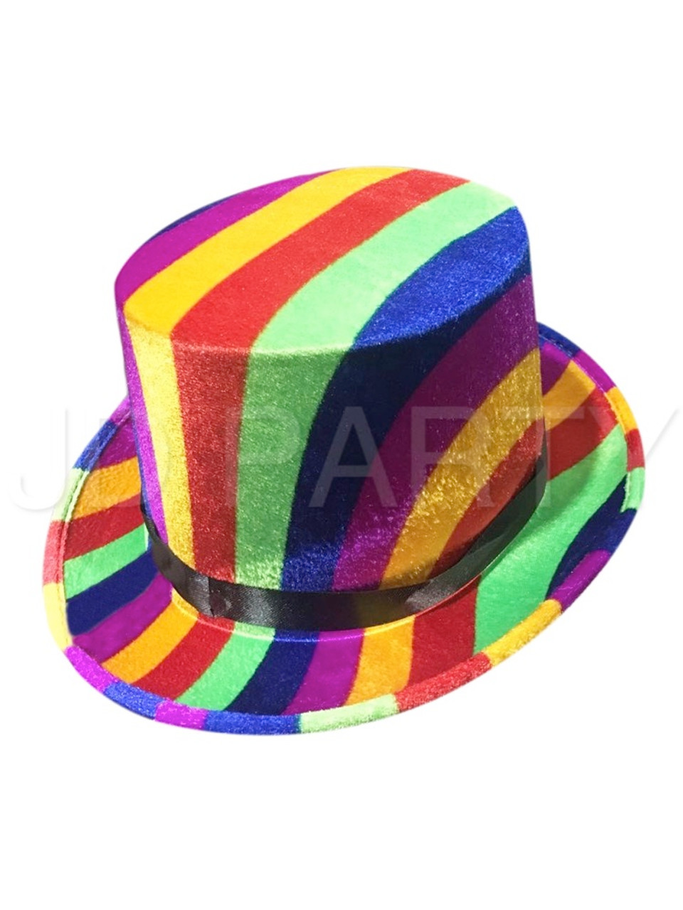 Rainbow Top Hat - Discount Party World b98d2e3a7db