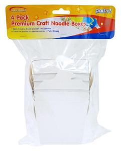 Craft Paper Noodle Box (16OZ)-4PK