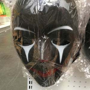 Crying Clown with black smile