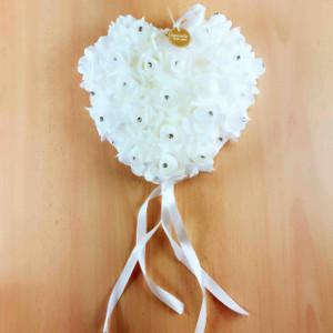 White Flower Heart