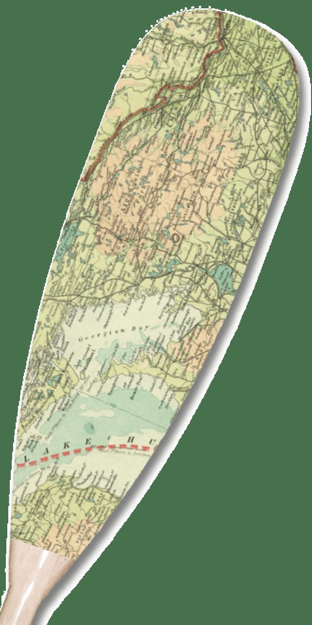 Near North Ontario Map Paddle