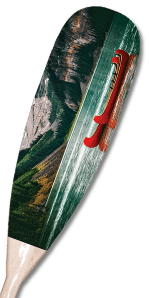 Red Canoe Paddle