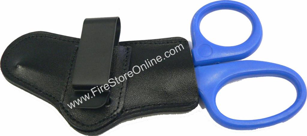 Leather Trauma Shears Holder (Left Side Carry)