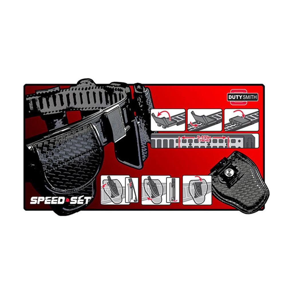 SpeedSet BATON Holder (BASKETWEAVE)