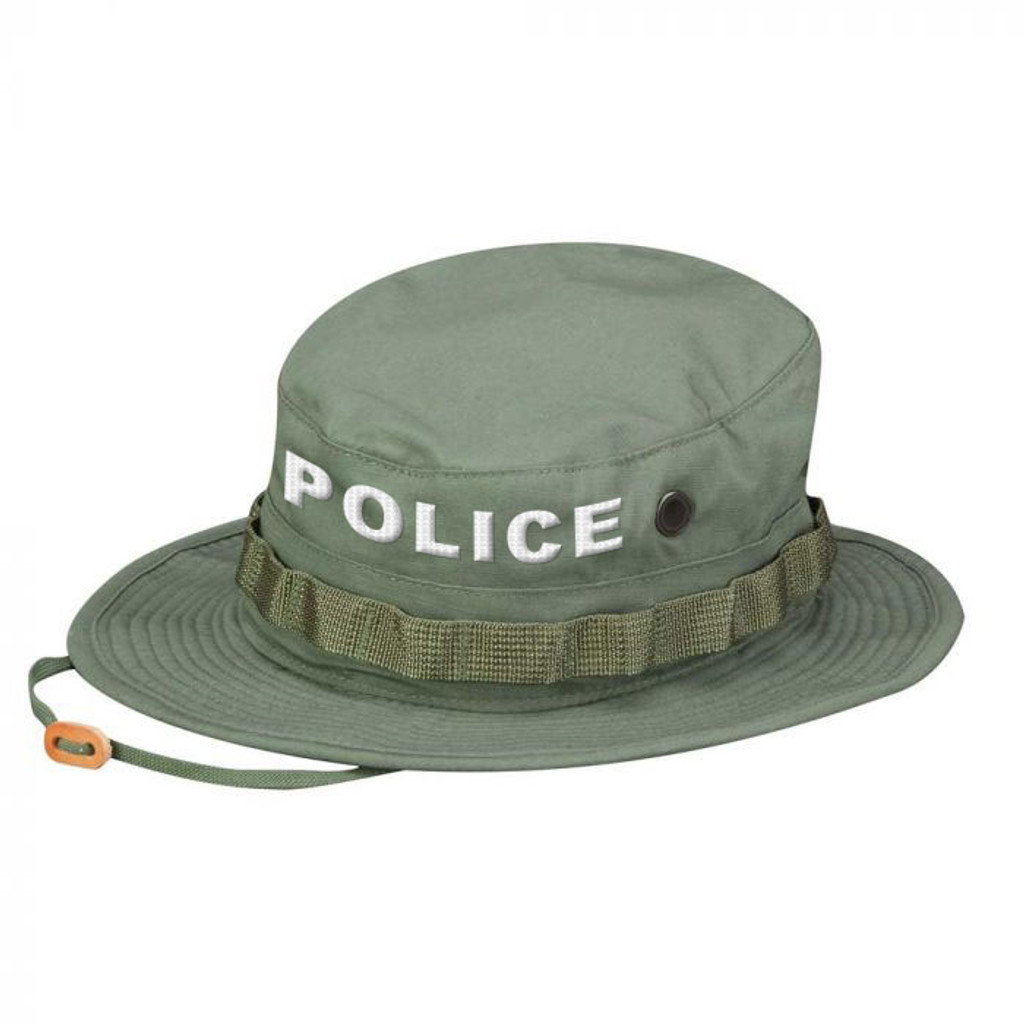 Propper POLICE Boonie Hat - OLIVE GREEN [mil-spec ripstop]