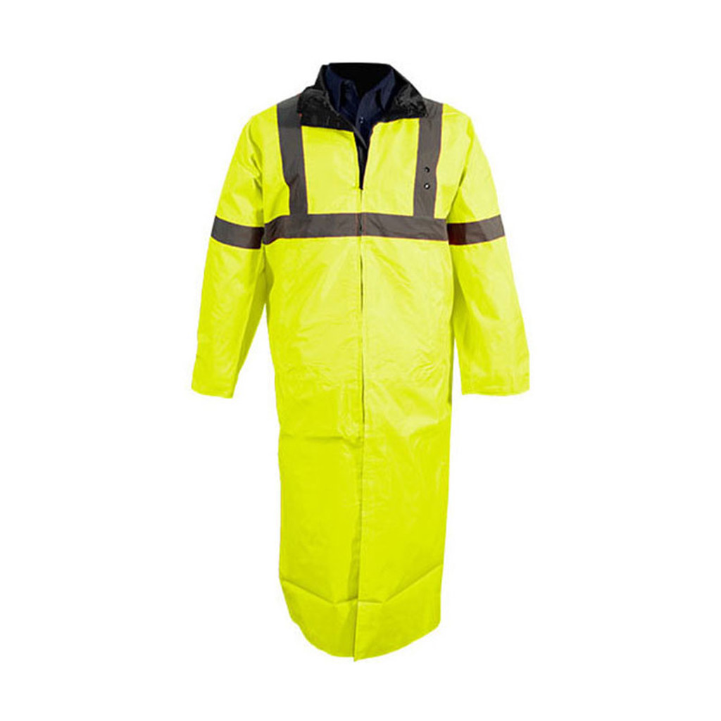 Tact Squad Reversible Long Raincoat (YELLOW/BLACK)