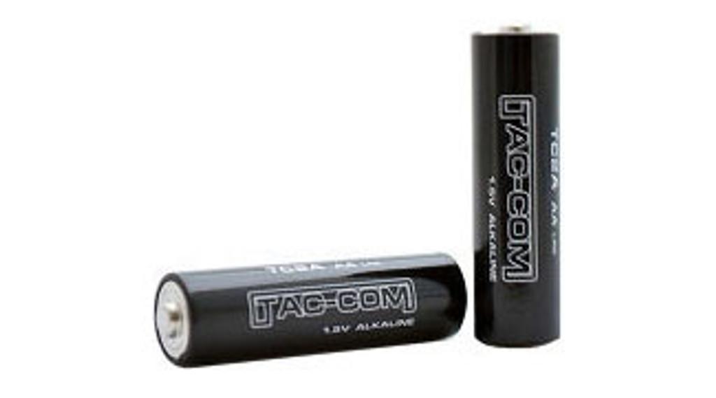 Tac-Com AA Alkaline Batteries (2-PACK)