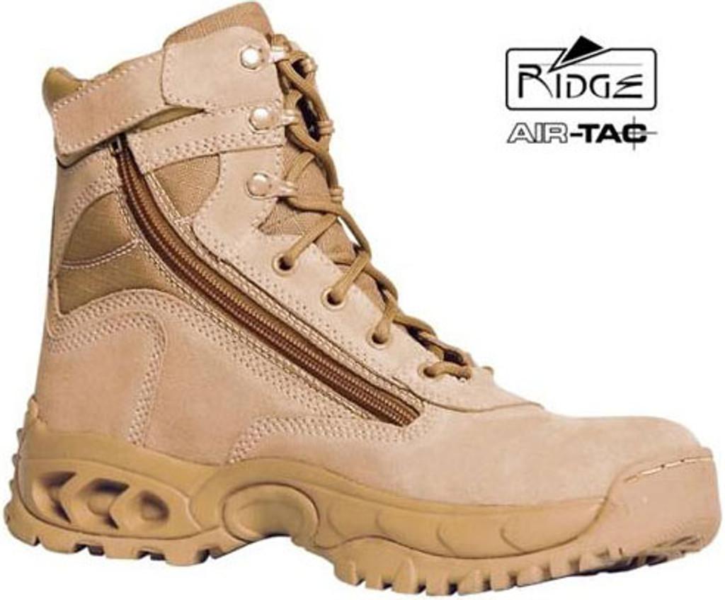 Ridge Desert Storm Side Zipper MID Boot (Tan)