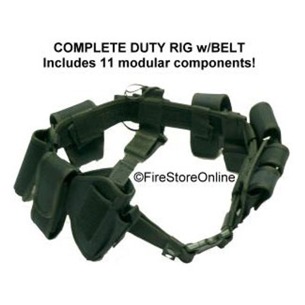 Complete DUTY RIG - Nylon (BLACK)