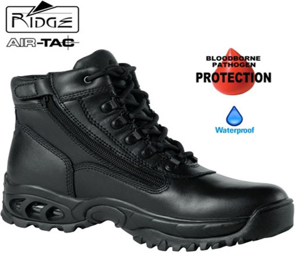 "Ridge 6"" Mid Side-Zip [BLOODBORNE/WATERPROOF] - Size 8M / 9.5 Women [Discount 50% off]"