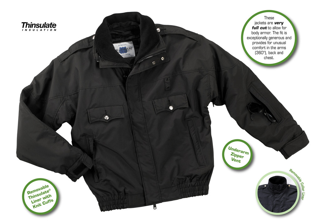 MILLENNIUM™ JACKET 100% Nylon Supplex® | Water and Wind Resistant