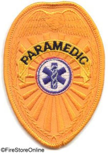 Patch - PARAMEDIC Badge (gold)