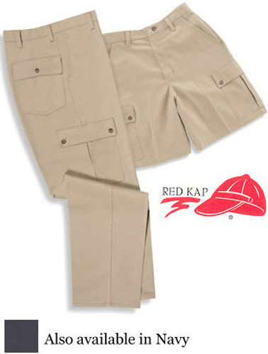Red Kap Men's Cotton Cargo Shorts