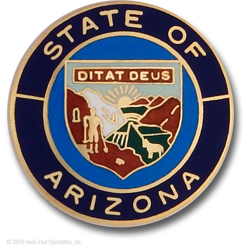 Hookfast Merit Award State Seal Arizona
