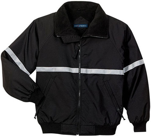 Challenger Duty Jacket w/Reflective Trim (BLACK)