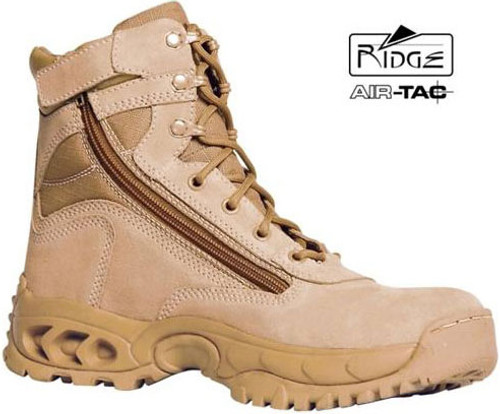 Ridge Desert Storm Side Zipper MID Boot (Tan)