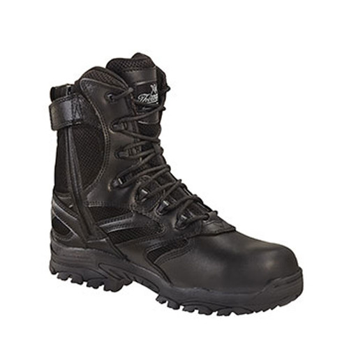 "Thorogood The Deuce 8"" Waterproof Side Zip Puncture Resistant Composite Safety Toe"
