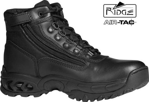 "Ridge 6"" Mid Duty Boot - Side Zip - Size 7M [Discount 50% Off] All Sales Are Final"