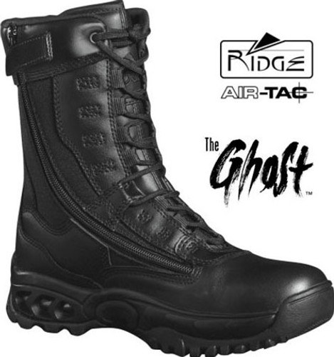 "Ridge GHOST 8"" Side-Zip Duty Boot - Size 10M / 11.5 Women [Discount 50% Off]"