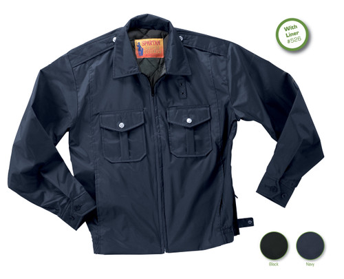 POLICE WINDBREAKER 100% Polyester Oxford