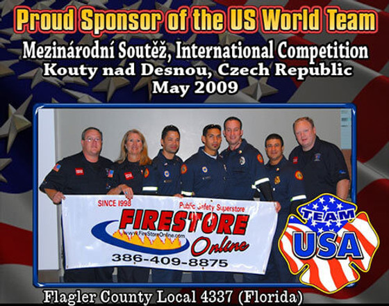 Proud Sponsor of the US World Team 2009