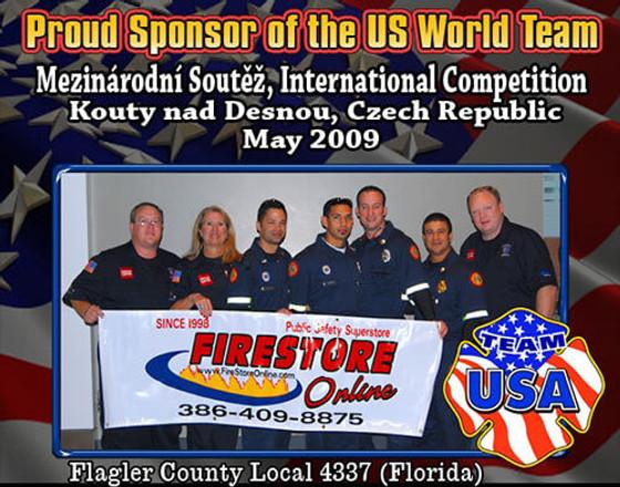 Proud Sponsor of the US World Team 2009