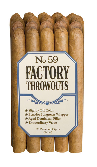 Factory Throwouts Regular No. 59